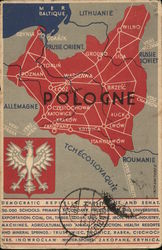 Geographical maps of allied countries