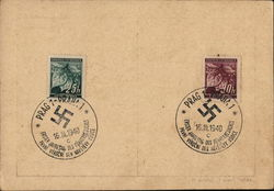 Swastika Cancellation - First Anniversary of the Fuhrer's Visit