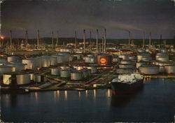 View of Shell Oil Refinery