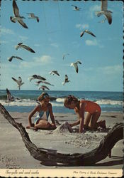 Sea-gulls and Sand Castles