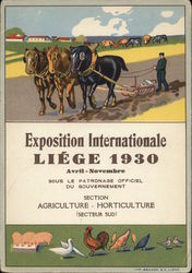 Exposition Internationale Liege 1930 Poster