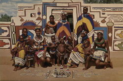 Women and Children of the Ndebele Tribe