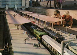 Main Station, Minitown, Model Railroad
