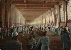 The Pilgrims inside the Masaa at Mecca