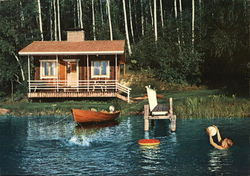 A Lakeside Sauna