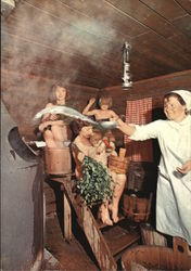 Families in the Sauna, spirit of the sauna