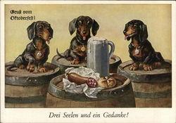 Gruess vom Oktoberfest! (Greetings from Oktoberfest!)