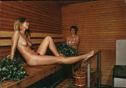 Nude women in a sauna - Suomi