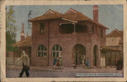 Narrandera Post Office Postcard