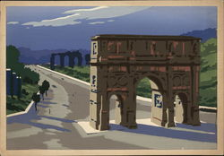 Illustration - Arch of Constantine - The Path of Triumphs