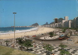 Copacabana Beach Postcard