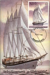"Windjammer ""Polynesia"" First Day of Issue"