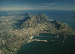 Aerial View of Cape Town and Cape Peninsula