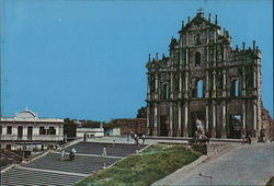 The Ruins of St. Paul's Postcard
