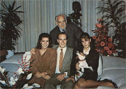 Prince Rainer of Monaco and Family