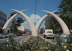 Giant Elephant Tusks, Kilindini Road