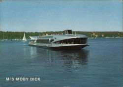 MS Moby Dick Postcard