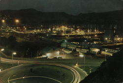 Lyttelton at Night and the Wahine