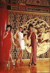Ch'i-p'an Clad Beauties Postcard
