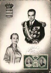Princess Grace Kelly and Prince Rainier III
