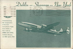 Irish Air Lines Dublin- Shannon - New York