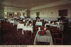 Dining Room, Eccles Hotel
