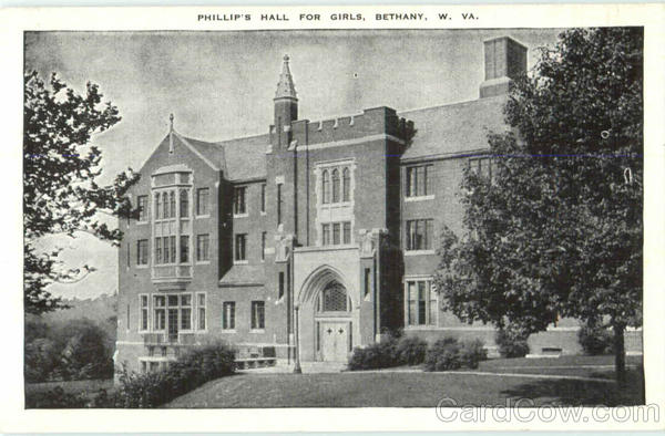 Phillip's Hall For Girls Bethany West Virginia