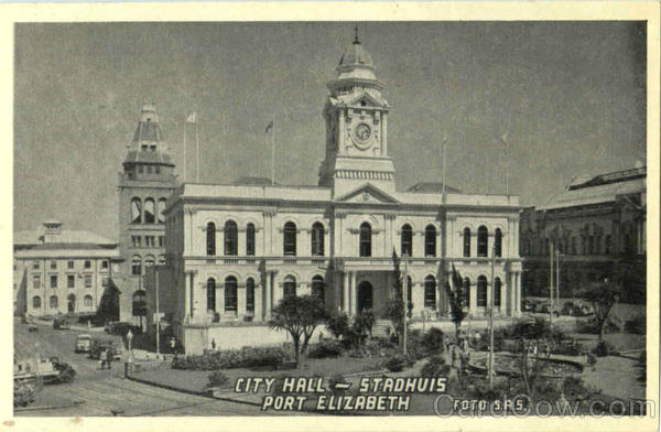 City Hall Stadhuis Port Elizabeth South Africa
