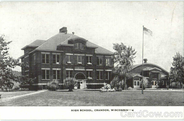 High School Crandon Wisconsin