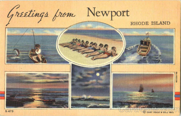 Greetings From Newport Rhode Island