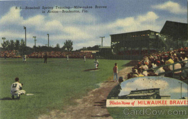 Milwaukee Braves Spring Training Bradenton Florida