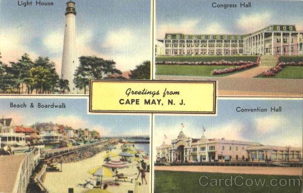 Greetings From Cape May New Jersey