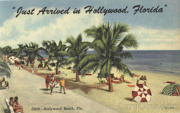 Just Arrived In Hollywood Florida