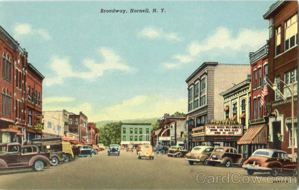 Broadway Hornell New York