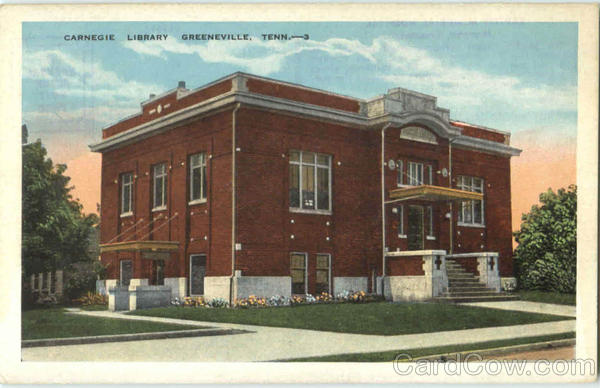 Carnegie Library Greeneville Tennessee