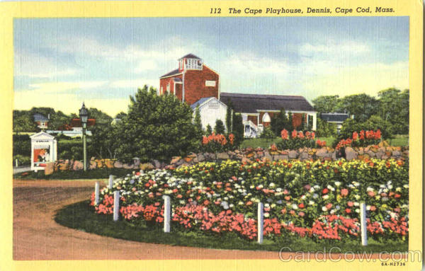 The Cape Playhouse, Dennis Cape Cod Massachusetts