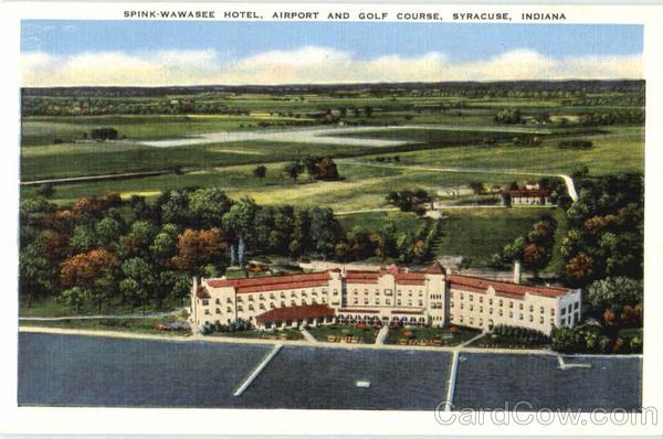 Spink Wawasee Hotel Syracuse Indiana