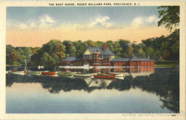 The Boat House, Roger Williams Park Providence Rhode Island