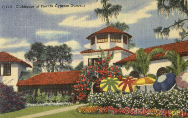 Clubhouse At Florida Cypress Gardens