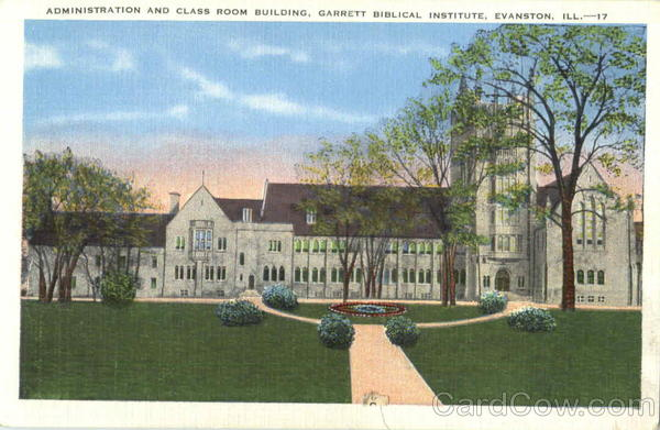 Administration And Class Room Building, Garrett Biblical Institute Evanston Illinois
