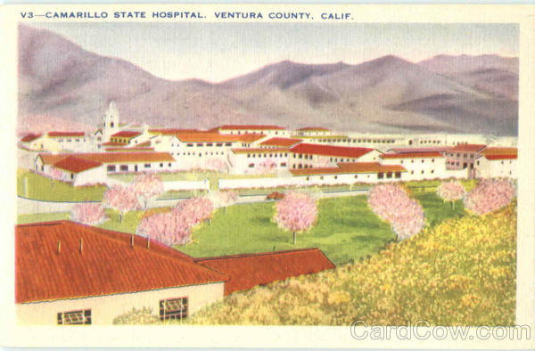 Camarillo State Hospital Ventura County California