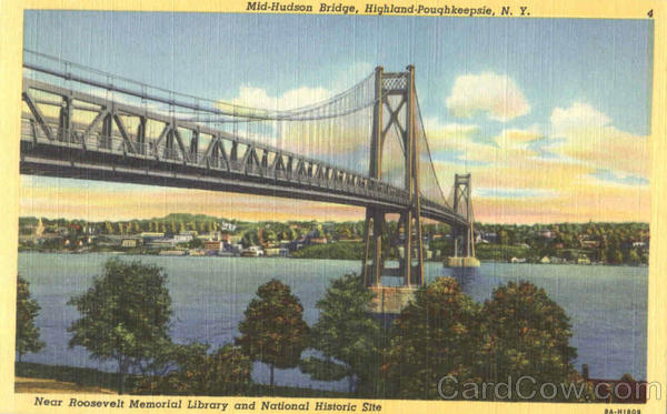 Mid-Hudson Bridge Poughkeepsie New York