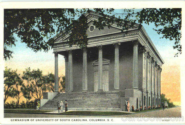 Gymnasium Of University Of South Carolina Columbia