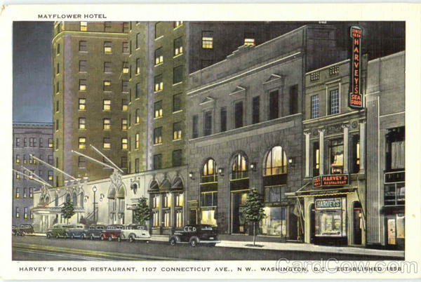 Mayflower Hotel, 1107 Connecticut Ave. Washington District of Columbia