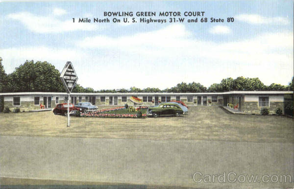 Bowling Green Motor Court Wisconsin