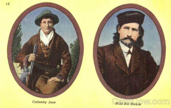 Famous Characters Of The Black Hill South Dakota Cowboy Western