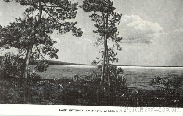 Lake Metonga Crandon Wisconsin