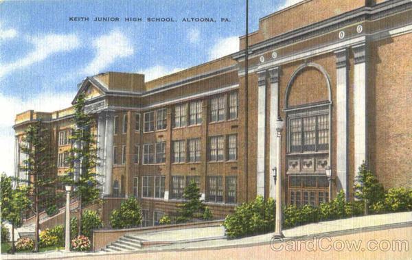 City Of Altoona >> Keith Junior High School Altoona, PA