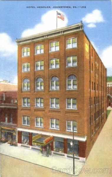 Hotel Hendler Johnstown Pa