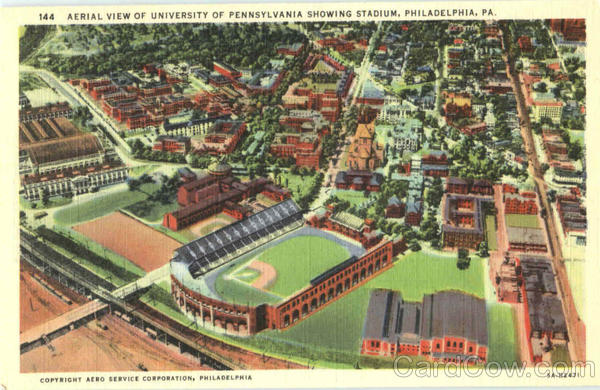 Aerial View Of University Of Pennsylvania Philadelphia